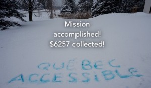 Mission accomplished! $6257 collected!